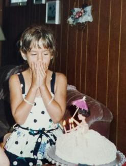 Toria's birthday, 1994